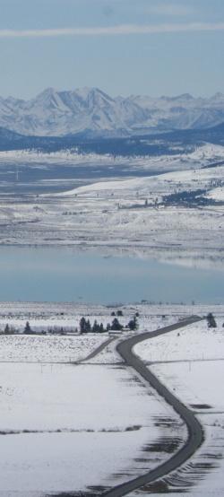 snow road